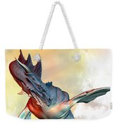 Water Dragon Weekender Tote Bag by Bob Orsillo