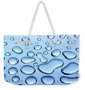 Water Drops Weekender Tote Bag by Carlos Caetano