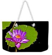 Water Flower Weekender Tote Bag