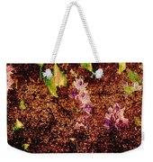 Water Flowers Vietnam Weekender Tote Bag