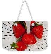 Water For Strawberries Weekender Tote Bag
