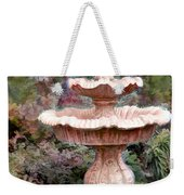 Water Fountain In  The Forest Weekender Tote Bag