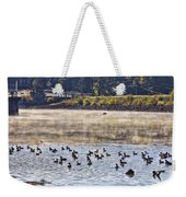 Water Fowl At Lake Wilhelmina Arkansas Weekender Tote Bag