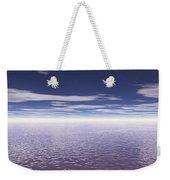 Water Horizon Weekender Tote Bag