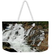 Water In Motion Glen Alpine Falls Weekender Tote Bag