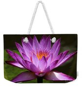 Water Lily Blossom Weekender Tote Bag