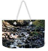 Water Over Rocks Weekender Tote Bag