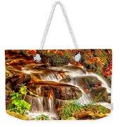 Water Over The Rocks Weekender Tote Bag