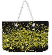 Water Pattern Weekender Tote Bag by Setsiri Silapasuwanchai