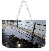 Water Puddle Weekender Tote Bag