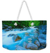 Water Rushing Through Rocks Weekender Tote Bag