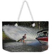 Water Skiing 8 Weekender Tote Bag