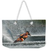 Water Skiing Magic Of Water 15 Weekender Tote Bag