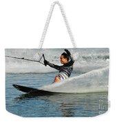 Water Skiing Magic Of Water 22 Weekender Tote Bag