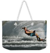 Water Skiing Magic Of Water 23 Weekender Tote Bag