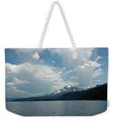Water Snow Vapor Lake Tahoe Weekender Tote Bag