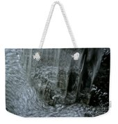 Water Wall And Whirling Bubbles Weekender Tote Bag