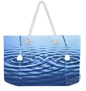 Water Waves Weekender Tote Bag
