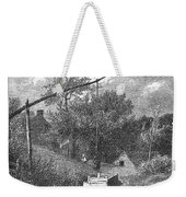 Water Well, C1880 Weekender Tote Bag