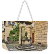 Water Well Weekender Tote Bag