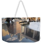 Lincoln Center Reflections Weekender Tote Bag