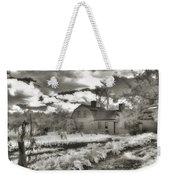 Watercolor In Black And White Weekender Tote Bag