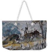 Watercolor Lesterny Weekender Tote Bag