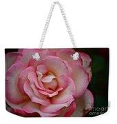 Watercolor Petals Weekender Tote Bag