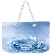 Waterdrop3 Weekender Tote Bag