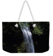 Waterfall In A Forest, Glencar Weekender Tote Bag