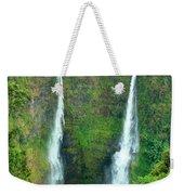 waterfall in Laos Weekender Tote Bag