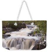 Waterfall In The Highlands Weekender Tote Bag