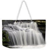 Waterfall In The Woods Weekender Tote Bag