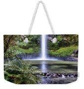 Waterfall Weekender Tote Bag by Les Cunliffe