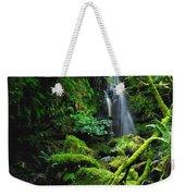 Waterfall, Sloughan Glen, Co Tyrone Weekender Tote Bag