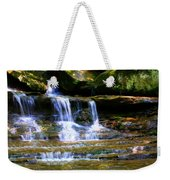 Waterfall Trio At Mcconnells Mill State Park Weekender Tote Bag