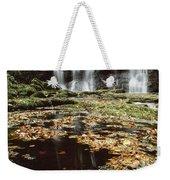 Waterfalls, During The Autumn, Glenoe Weekender Tote Bag
