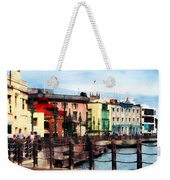 Waterfront Bridgetown Barbados Weekender Tote Bag