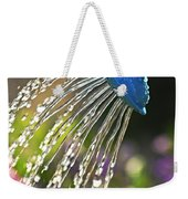 Watering Flowers Weekender Tote Bag by Elena Elisseeva