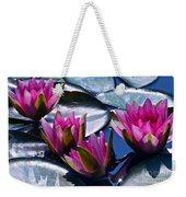 Waterlilies In Bright Sunlight Weekender Tote Bag