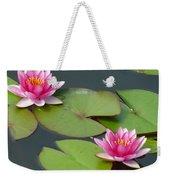 Waterlillies Weekender Tote Bag