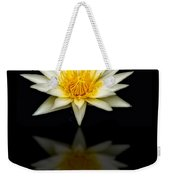 Waterlily And Reflection Weekender Tote Bag