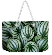 Watermelon Leaves Weekender Tote Bag