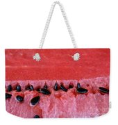 Watermelon Seeds Weekender Tote Bag by Susan Herber