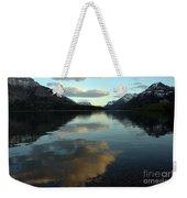 Waterton Lake Sunset Canada Weekender Tote Bag