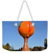 Watery Peach Weekender Tote Bag