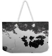 Watery Reflections Weekender Tote Bag