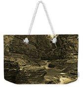 Watkins Glen In Orotone Weekender Tote Bag