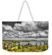 Watson Bay Sydney Harbor Weekender Tote Bag
