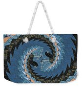 Wave Mosaic. Weekender Tote Bag